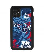 Tennessee Titans Tropical Print iPhone 11 Waterproof Case