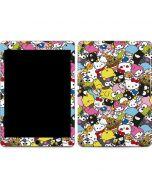Hello Sanrio Color Blast Apple iPad Air Skin