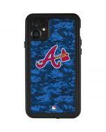 Atlanta Braves Digi Camo iPhone 11 Waterproof Case