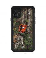 Baltimore Orioles Realtree Xtra Green Camo iPhone 11 Waterproof Case