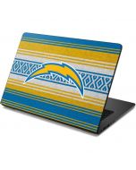 Los Angeles Chargers Trailblazer Dell Chromebook Skin