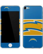 Los Angeles Chargers Zone Block Apple iPod Skin