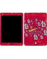 St. Louis Cardinals - Primary Logo Blast Apple iPad Air Skin