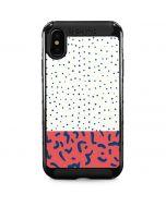 Polka Dot Split iPhone XS Max Cargo Case