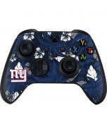 New York Giants Tropical Print Xbox Series X Controller Skin