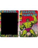 Hulk Marvel Fanfare Apple iPad Air Skin