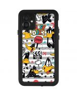 Daffy Duck Striped Patches iPhone 11 Waterproof Case
