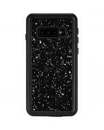 Black Speckle Galaxy S10 Waterproof Case