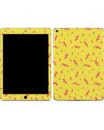 Yellow Spring Apple iPad Air Skin