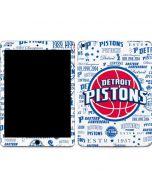 Detroit Pistons Historic Blast Apple iPad Air Skin
