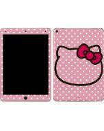 Hello Kitty Outline Apple iPad Air Skin