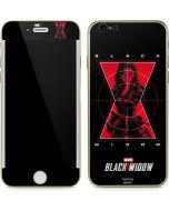 Black Widow Logo iPhone 6/6s Skin