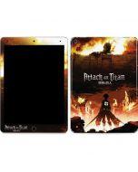 Attack On Titan Fire Apple iPad Air Skin