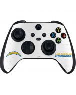 Los Angeles Chargers Distressed Xbox Series X Controller Skin