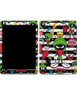 Marvin the Martian Striped Patches Apple iPad Air Skin