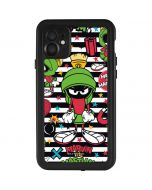 Marvin the Martian Striped Patches iPhone 11 Waterproof Case