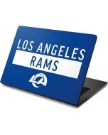 Los Angeles Rams Blue Performance Series Dell Chromebook Skin