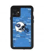 Tennessee Titans - Blast iPhone 11 Waterproof Case