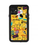 Tweety and Sylvester Patches iPhone 11 Waterproof Case