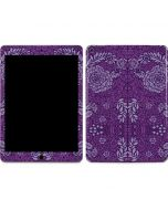 Radiant Orchid Floral Apple iPad Air Skin