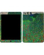 Poppy Field by Gustav Klimt Apple iPad Air Skin