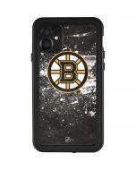 Boston Bruins Frozen iPhone 11 Waterproof Case