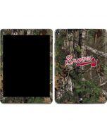 Atlanta Braves Realtree Xtra Green Camo Apple iPad Air Skin