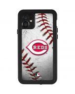 Cincinnati Reds Game Ball iPhone 11 Waterproof Case