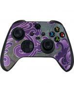 Purple Flourish Xbox Series X Controller Skin