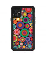 Psychedelic Circles iPhone 11 Waterproof Case