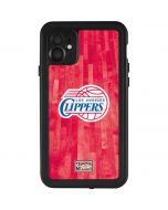 Los Angeles Clippers Hardwood Classics iPhone 11 Waterproof Case