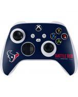 Houston Texans Team Motto Xbox Series S Controller Skin