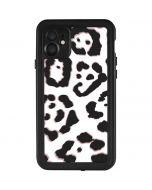 B&W Leopard iPhone 11 Waterproof Case