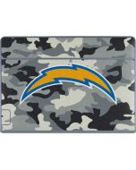 Los Angeles Chargers Camo Galaxy Book Keyboard Folio 12in Skin