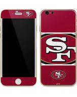 San Francisco 49ers Zone Block iPhone 6/6s Skin