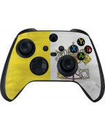 Vatican City Flag Distressed Xbox Series X Controller Skin