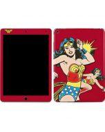 Wonder Woman in Action Apple iPad Air Skin
