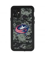 Columbus Blue Jackets Camo iPhone 11 Waterproof Case