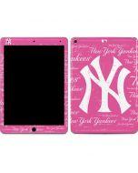 New York Yankees - Pink Cap Logo Blast Apple iPad Air Skin
