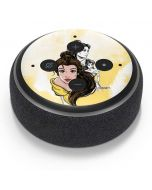 Belle Sketch Amazon Echo Dot Skin