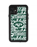 New York Jets White Blast iPhone 11 Waterproof Case