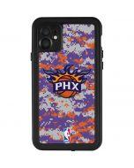 Phoenix Suns Digi Camo iPhone 11 Waterproof Case