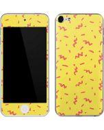 Yellow Spring Apple iPod Skin