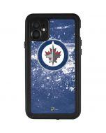 Winnipeg Jets Frozen iPhone 11 Waterproof Case