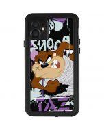 Splatter Paint Tasmanian Devil iPhone 11 Waterproof Case