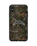 Los Angeles Chargers Realtree Xtra Green Camo Otterbox Symmetry iPhone Skin