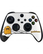 Gudetama Mustache Xbox Series X Controller Skin