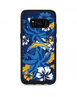 Los Angeles Chargers Tropical Print Otterbox Symmetry Galaxy Skin