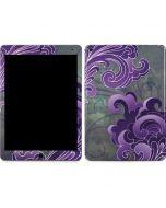 Purple Flourish Apple iPad Air Skin
