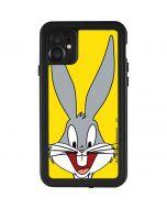 Bugs Bunny Zoomed In iPhone 11 Waterproof Case